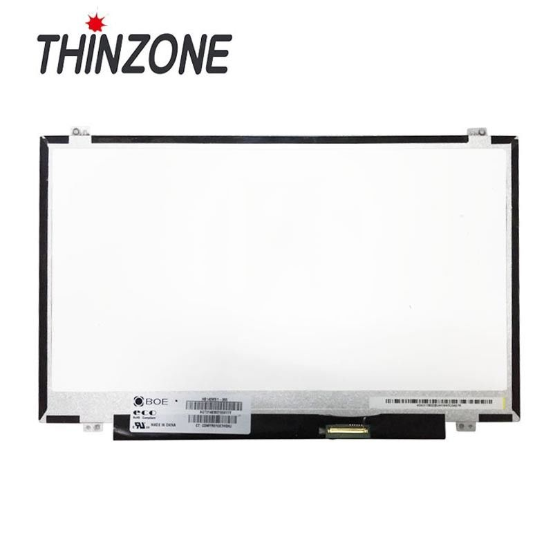 1366*768 Glossy 14 Inch LCD Screen TFT Type For HB140WX1-300 HB140WX1-300/400